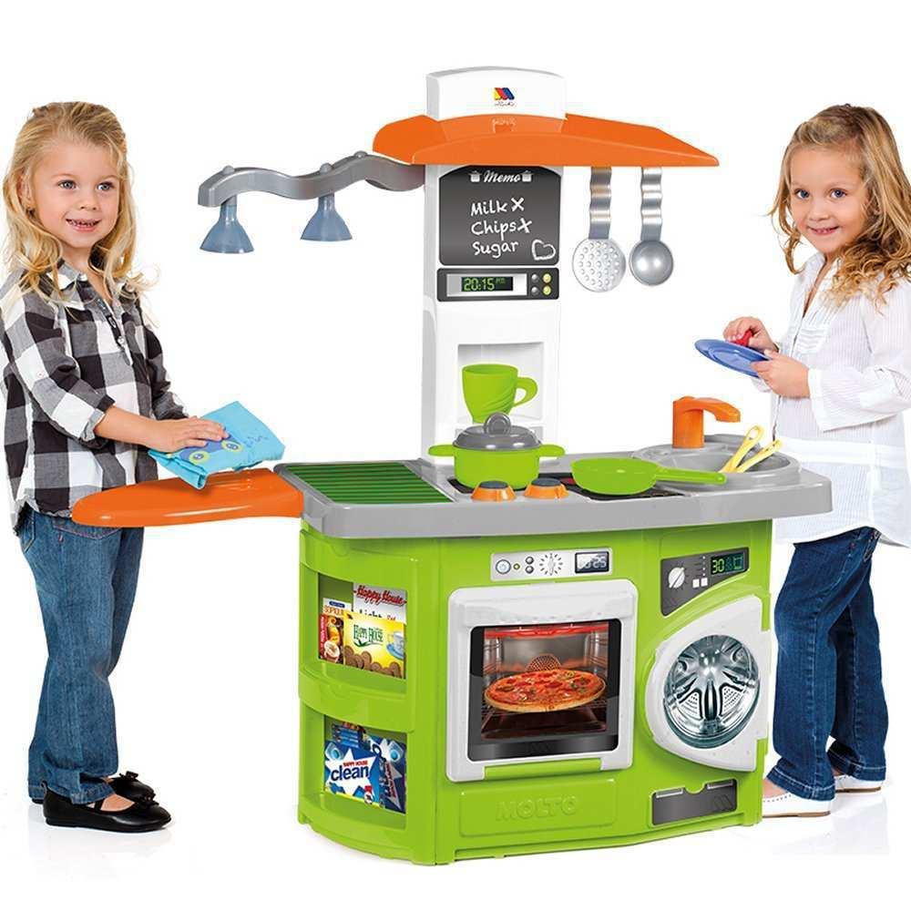Cocinitas de juguete infantiles de plastico tiendas for Cocina de juguete