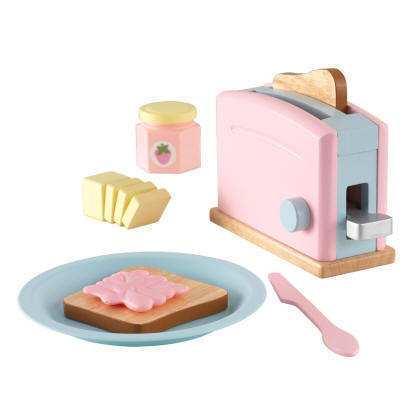 Kidkraft set tostadora pastel 63374