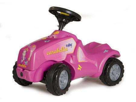 correpasillos rosa 4 ruedas tractor