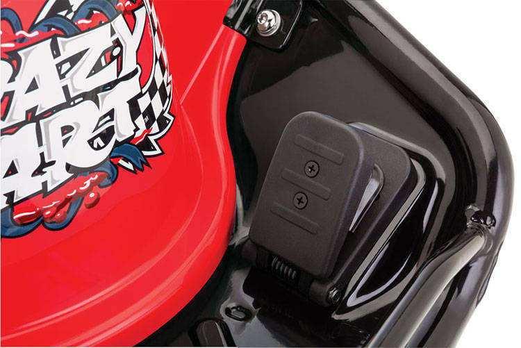 Pedal del crazy cart razor width=