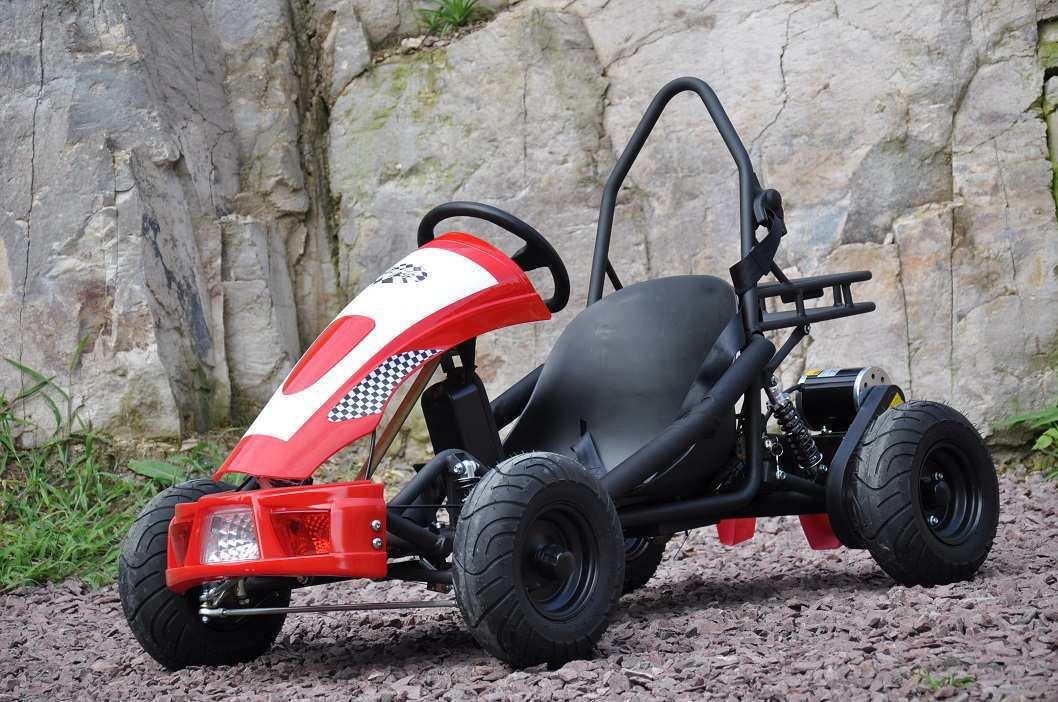 kart eléctrico 500w 36v red pekecars 2 width=
