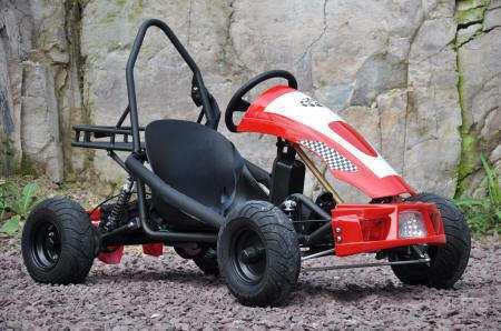 kart eléctrico 500w 36v red pekecars