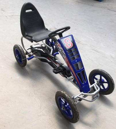 Kart pedales F8 color azul IMAGE