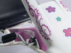 Detalles Spolier Kart Tourer White and Pink