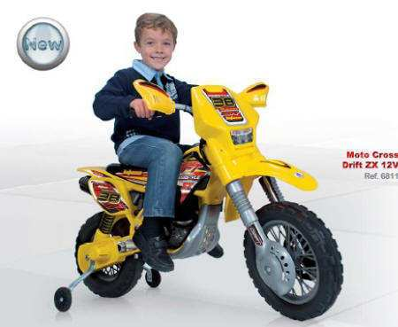 Moto cross thunder max vx 12v