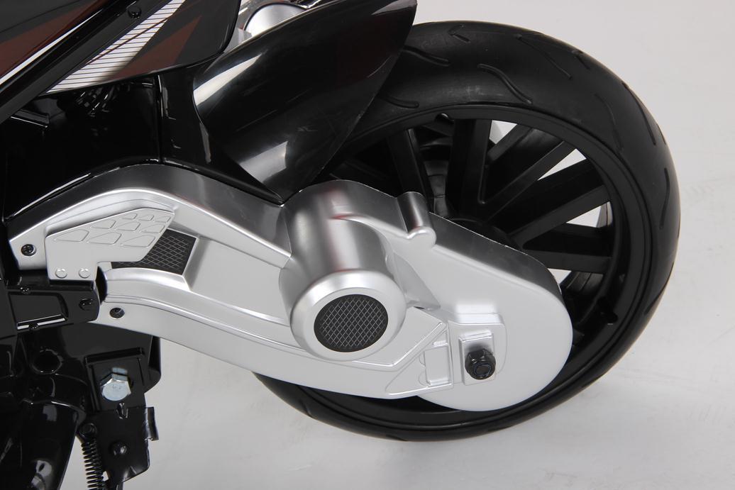 MOTO BMW 12V NEGRA RUEDA FOAM width=
