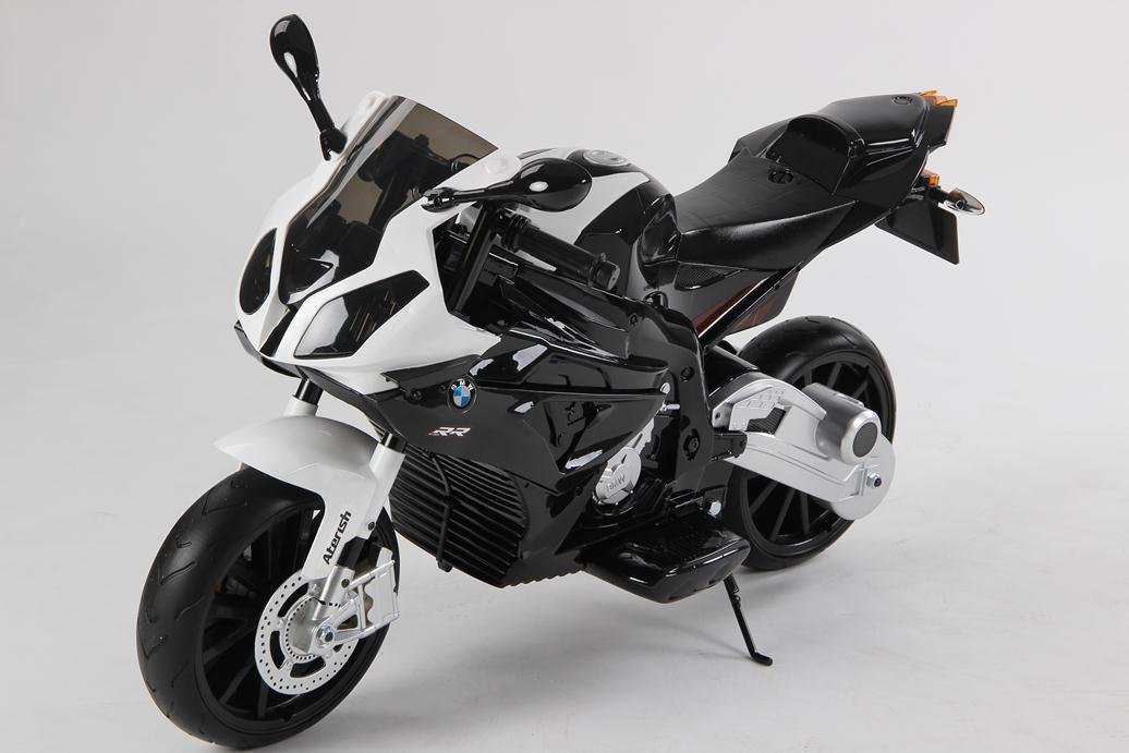MOTO BMW 12V NEGRA LATERAL IZQUIERDO