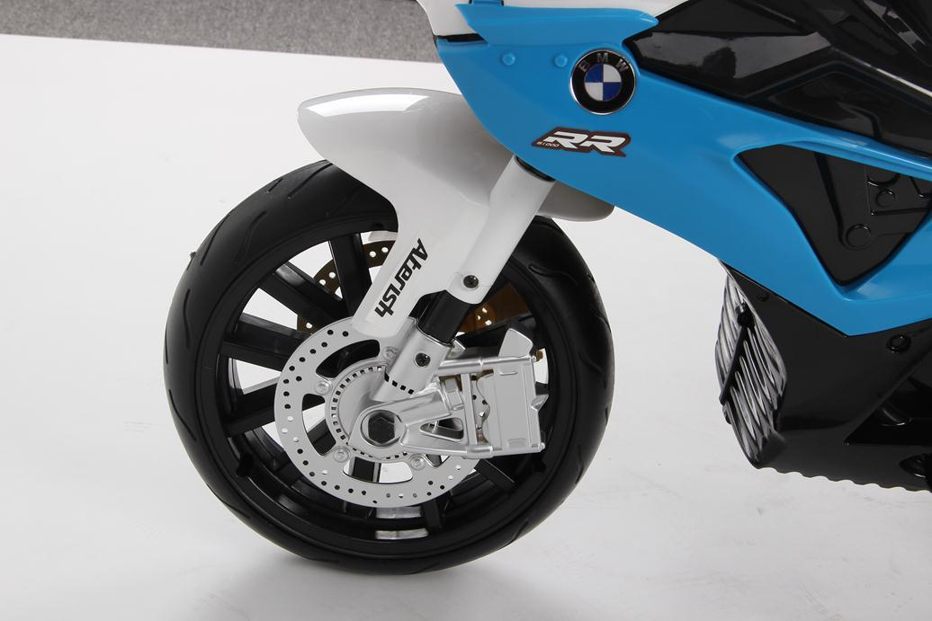 MOTO BMW 12V AZUL RUEDA FOAM width=