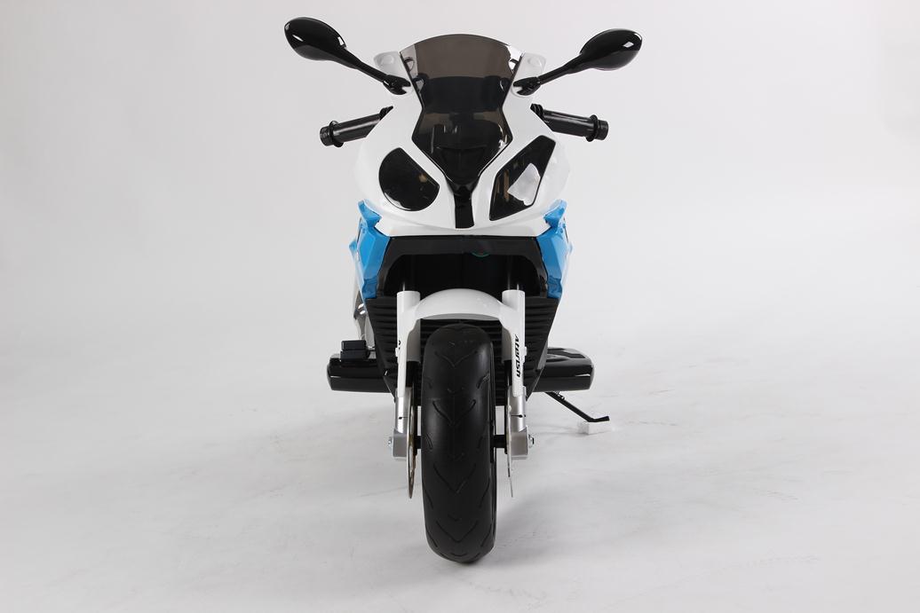 MOTO BMW 12V AZUL FRONTAL width=
