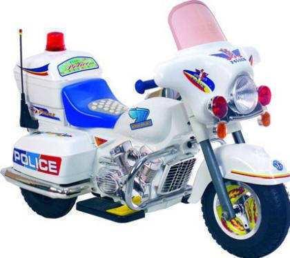 Pekecars moto policía 6v