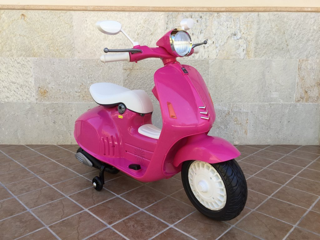 Vespa style 12v pink-002