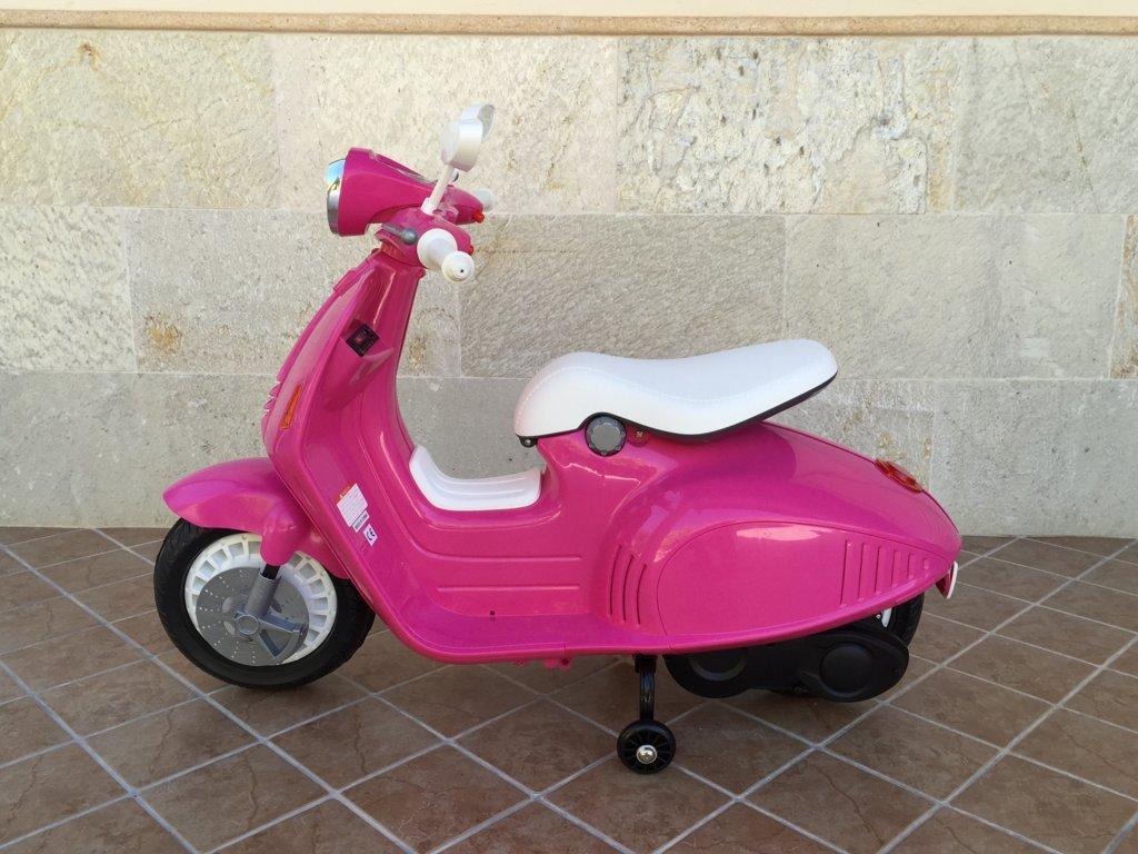 Vespa style 12v pink-003