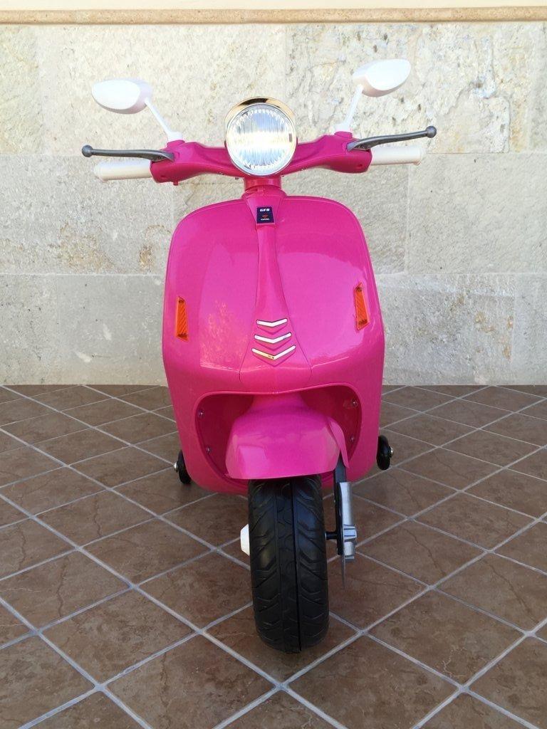 Vespa style 12v pink-005