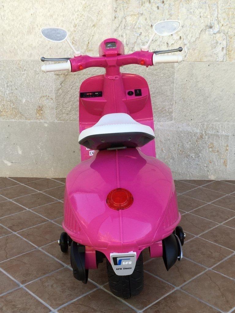 Vespa style 12v pink-006