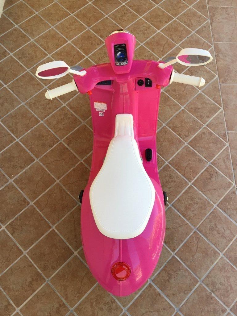 Vespa style 12v pink-007
