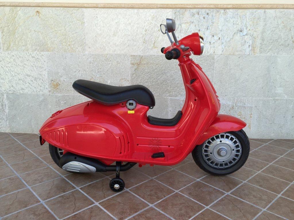Vespa style 12v red-004 width=