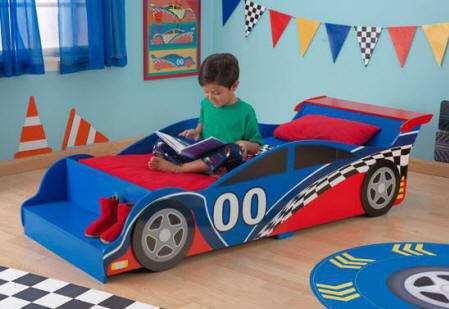 Comprar cama en forma de coche de carreras