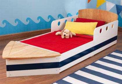 Comprar cama en forma de barco width=