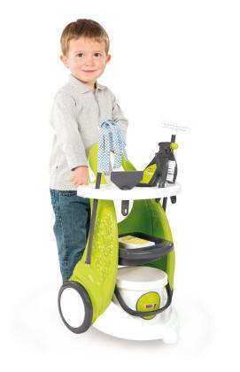 carrito limpieza niños