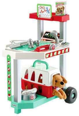 centro veterinario de juguete
