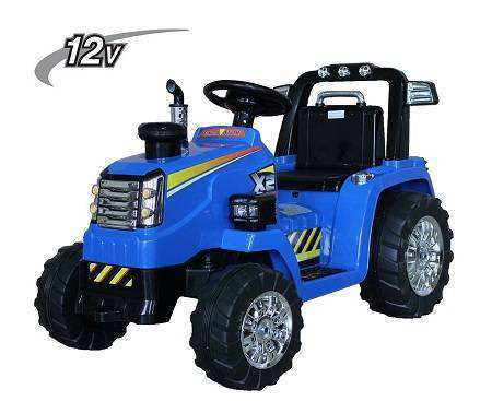 Tractor Electrico 12V New Holland Style Pekecars