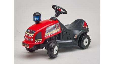 Correpasillos tractor rojo rescate bomberos