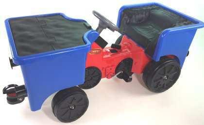 vagoneta a pedales de juguete