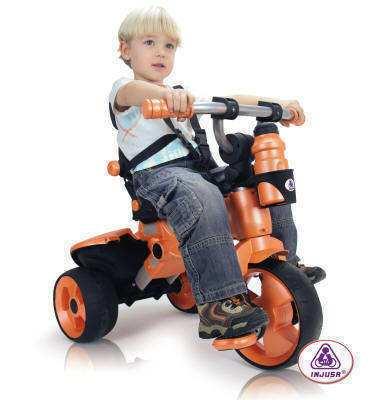 Triciclo city orange width=