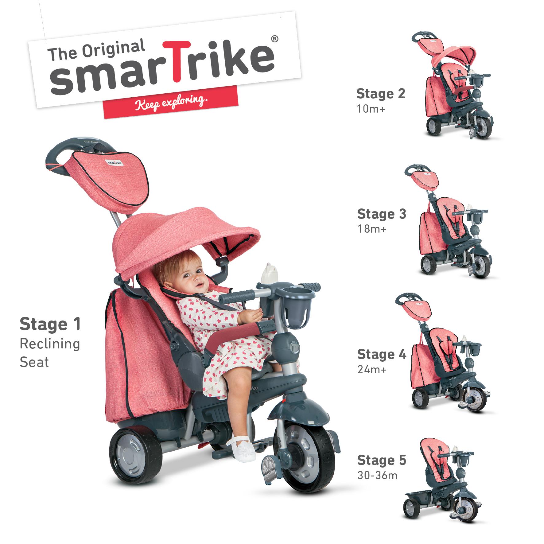 Triciclo explorer rosa