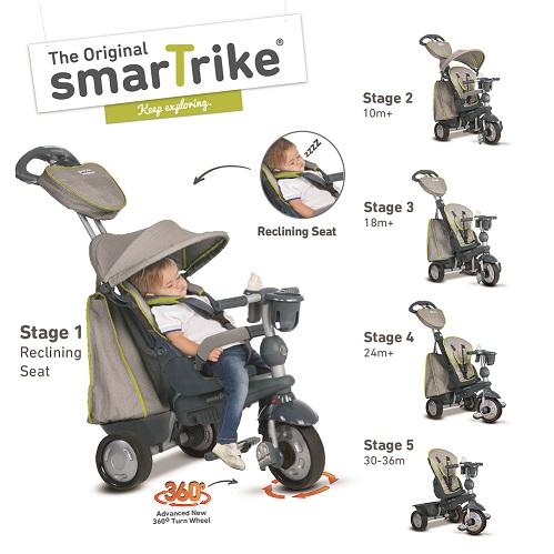 Triciclo explorer gris