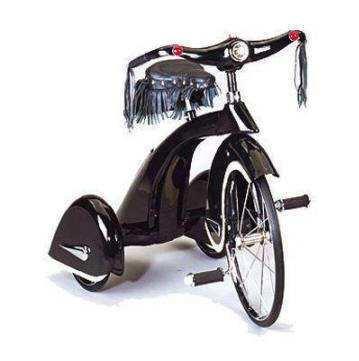 Triciclo loco del volante