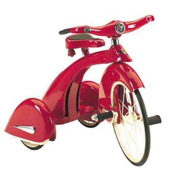 Triciclo rojo rey del cielo width=