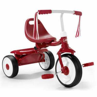 Triciclo plegable radio flyer