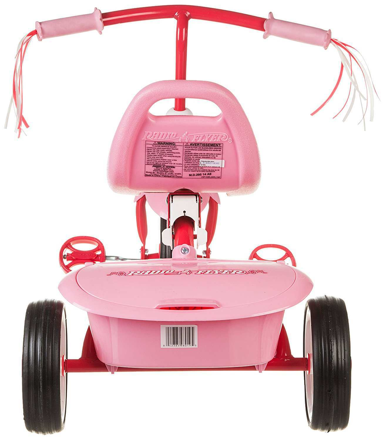 triciclo plegable rosa radio flyer-3