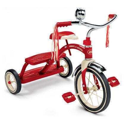 Triciclo clásico l radio flyer